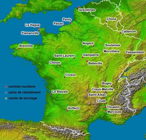 centrales nucleares francesas