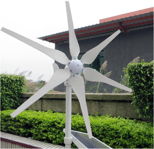 Generador energia eolica para casa