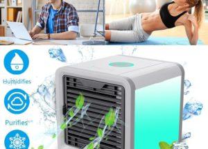 Calor en el puesto de trabajo? Ventilador vs Aire