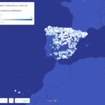 Mapas energías renovables península