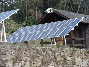 Instalar paneles solares chalet